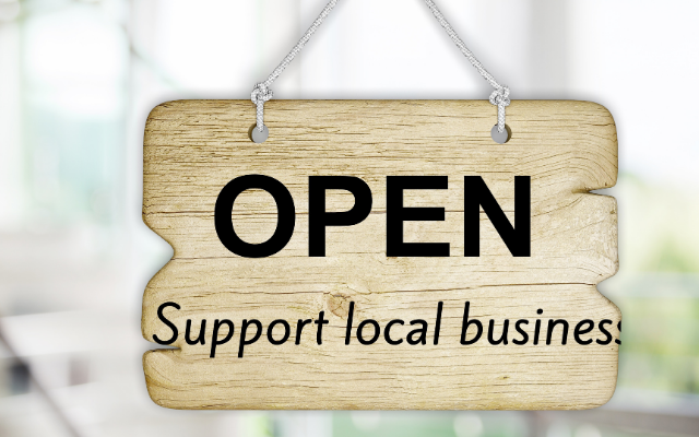 SUPPORT LOCAL BUSINESSES WITH LEVY