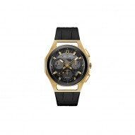 Bulova Stainless Steel Yellow Gold Plated Chronograph Watch