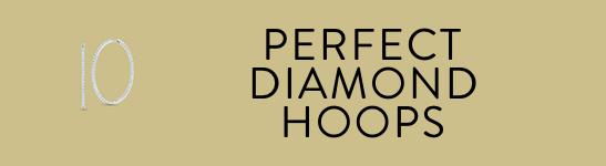 Perfect Diamond Hoops