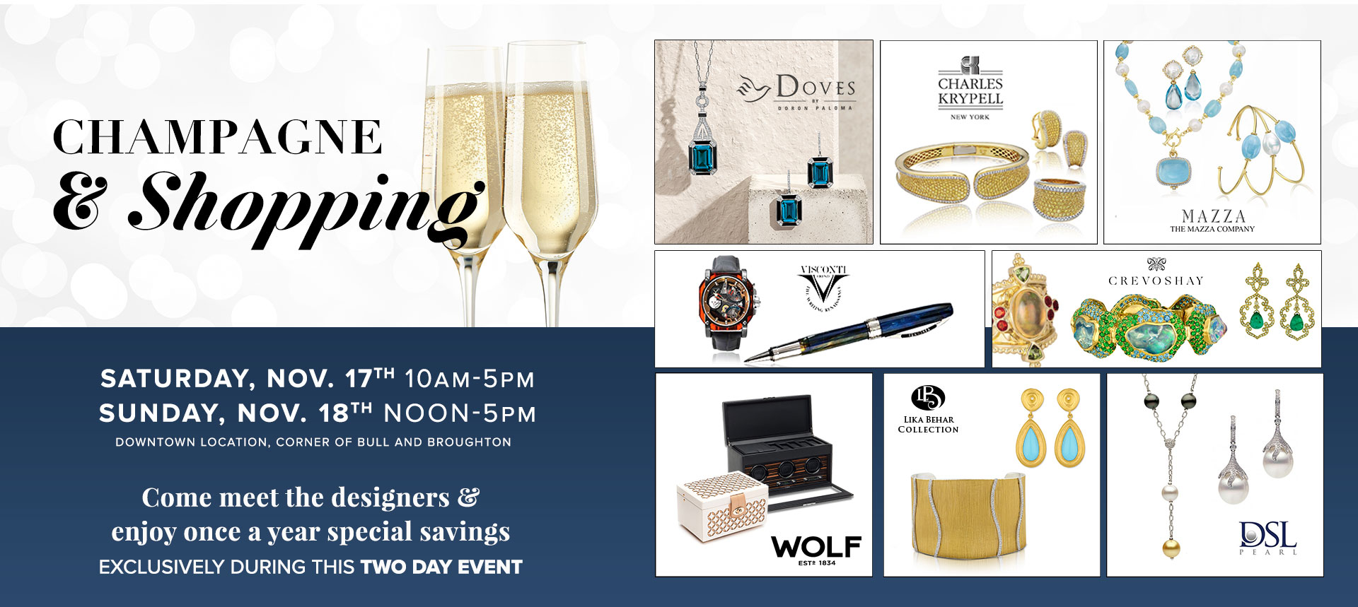 Shopping and Champagne Show
