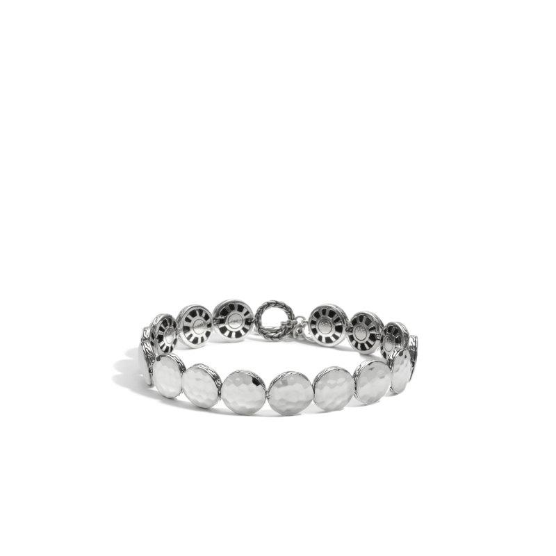 John Hardy Dot Small Round Disc Bracelet