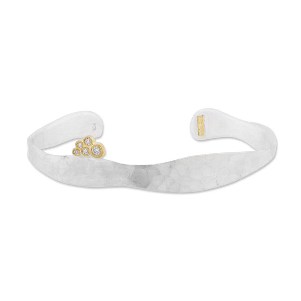 "Lika Behar ""Stockton"" Diamond Cuff Bracelet"