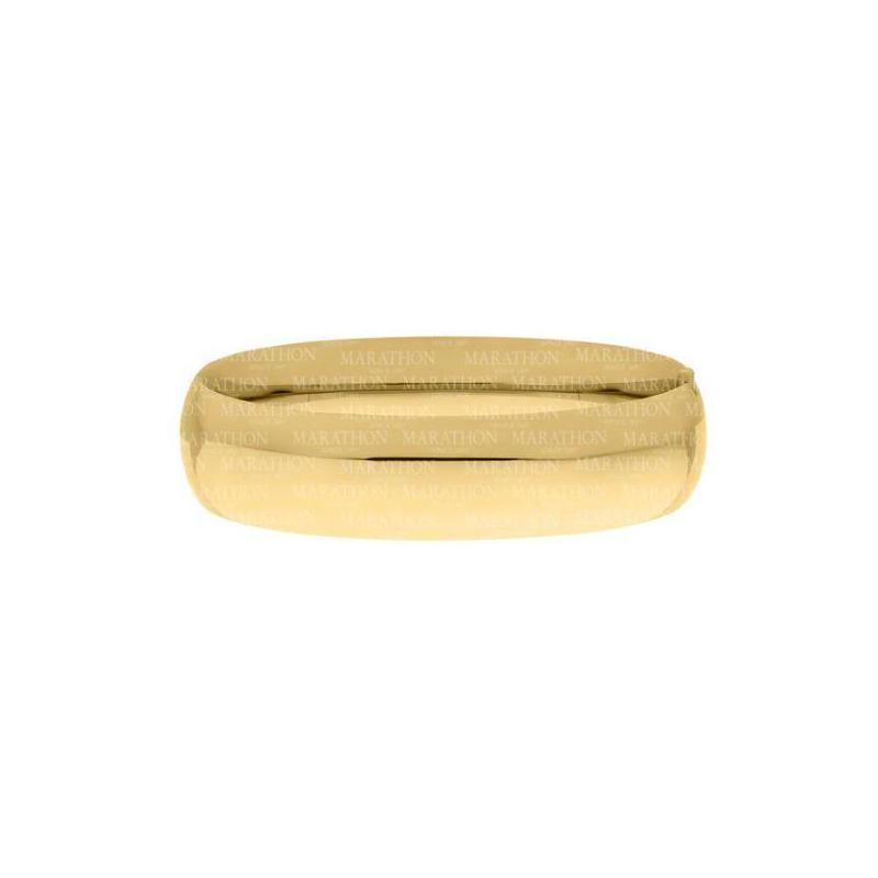 14 Karat Yellow Gold Filled 16mm Bangle Bracelet