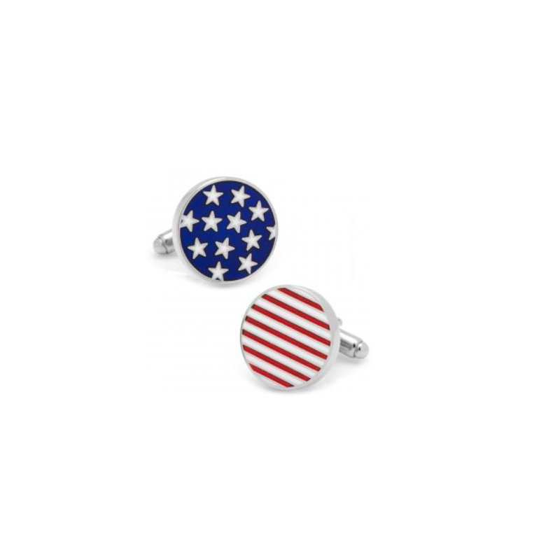Stars & Stripes American Flag Cufflinks