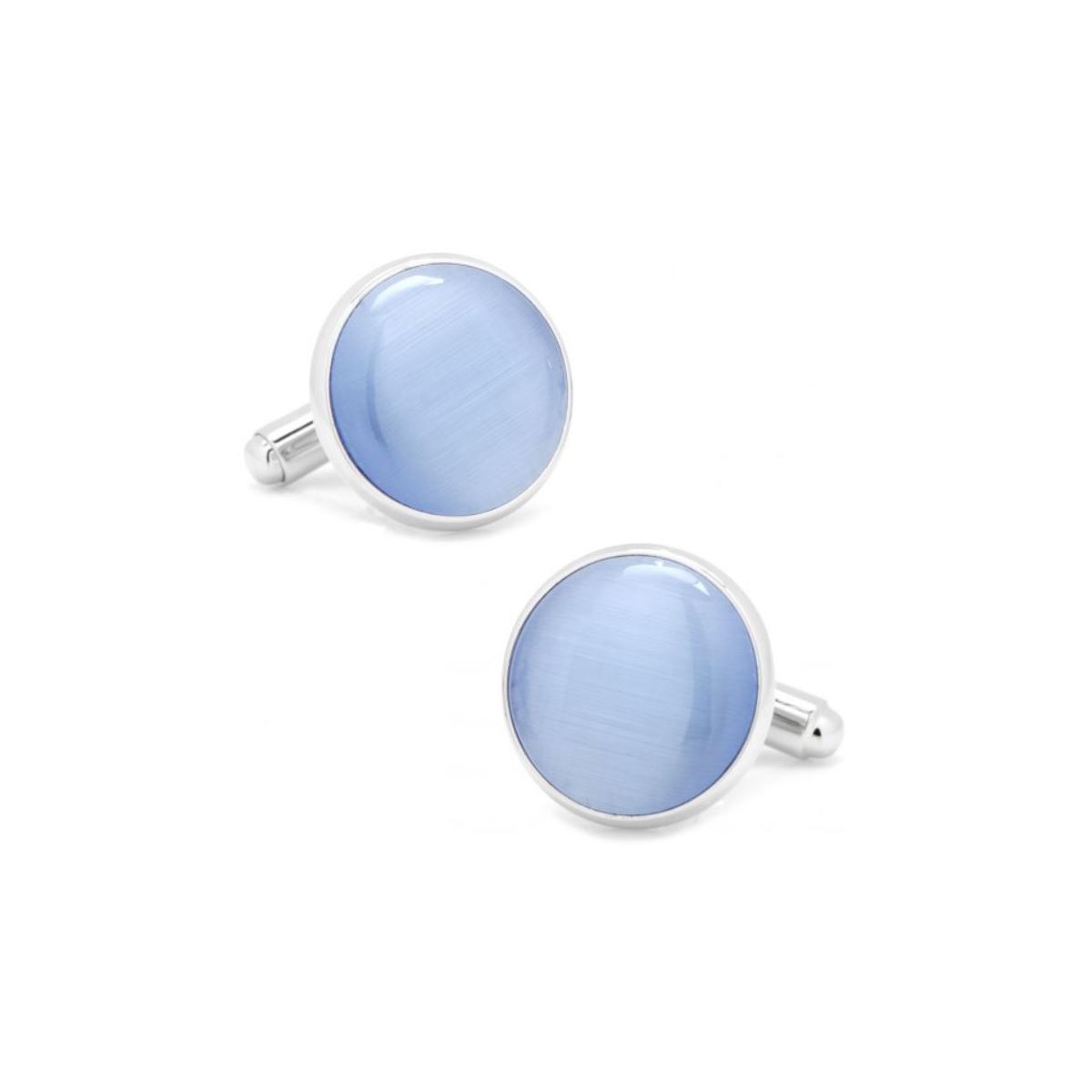 Blue Catseye Cufflinks