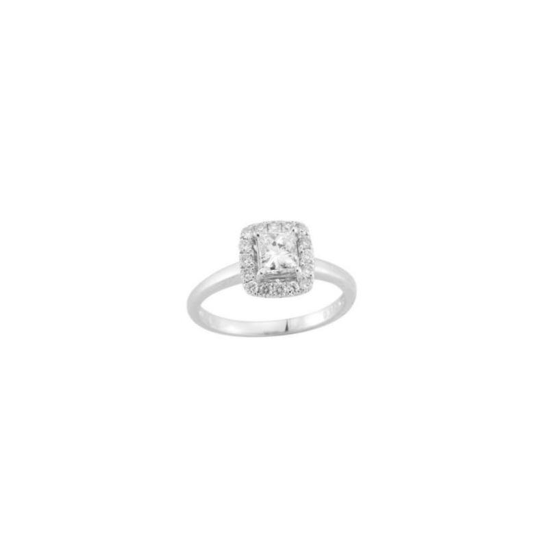 Paramount Gems 14 Karat Yellow Gold Diamond Bridal Ring