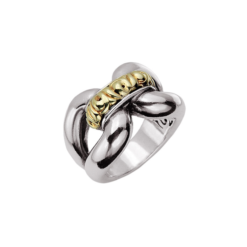 CHARLES KRYPELL IVY TWO TONE RING