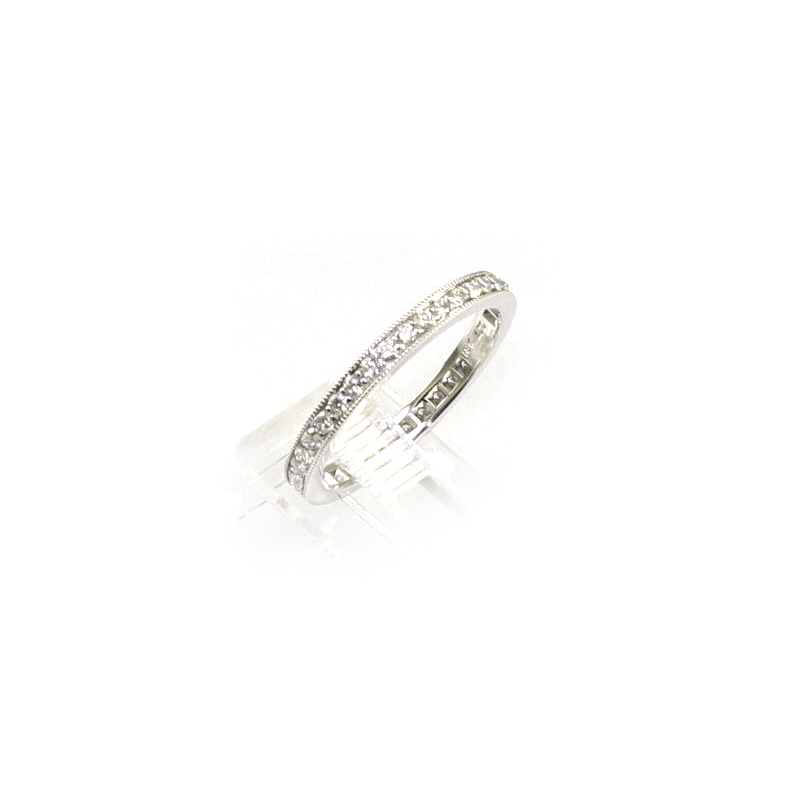 18 Karat White Gold 37 Diamond Eternity Band