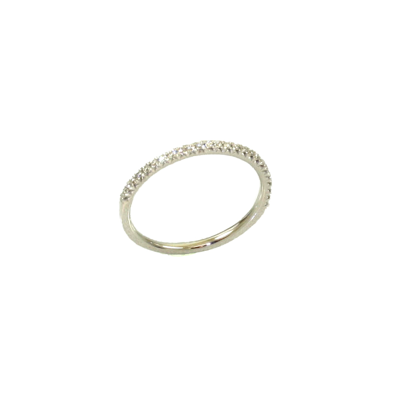 Beny Sofer 14 Karat White Gold Diamond Band (.15 Carat)