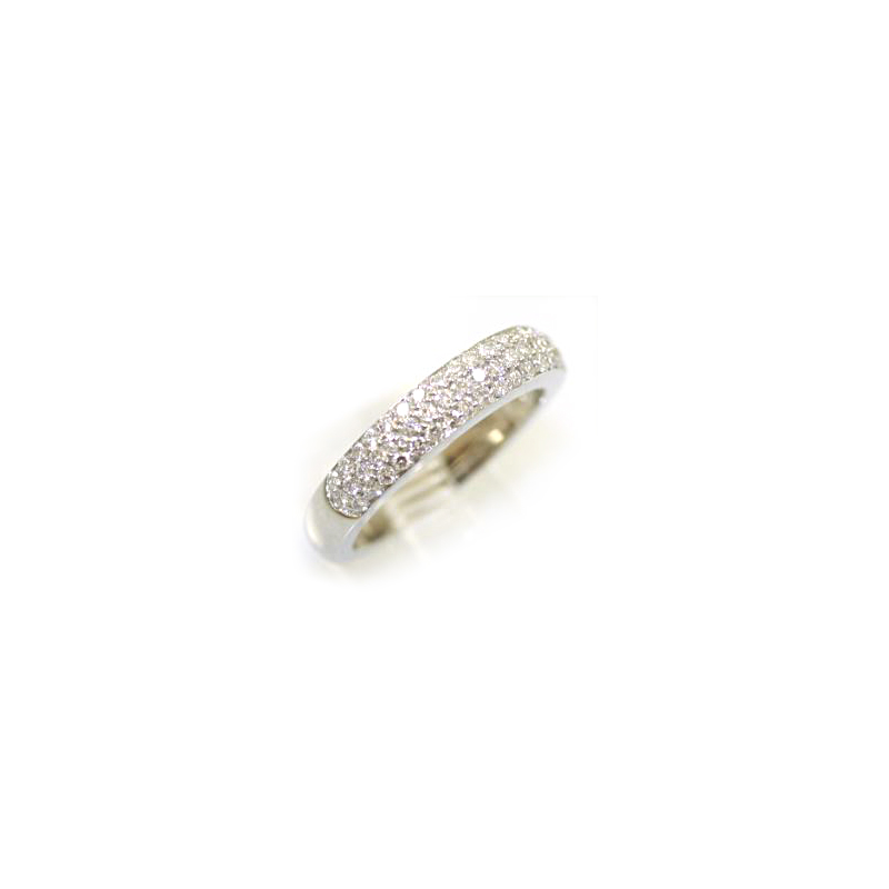 Platinum 55 Diamond Wedding Band