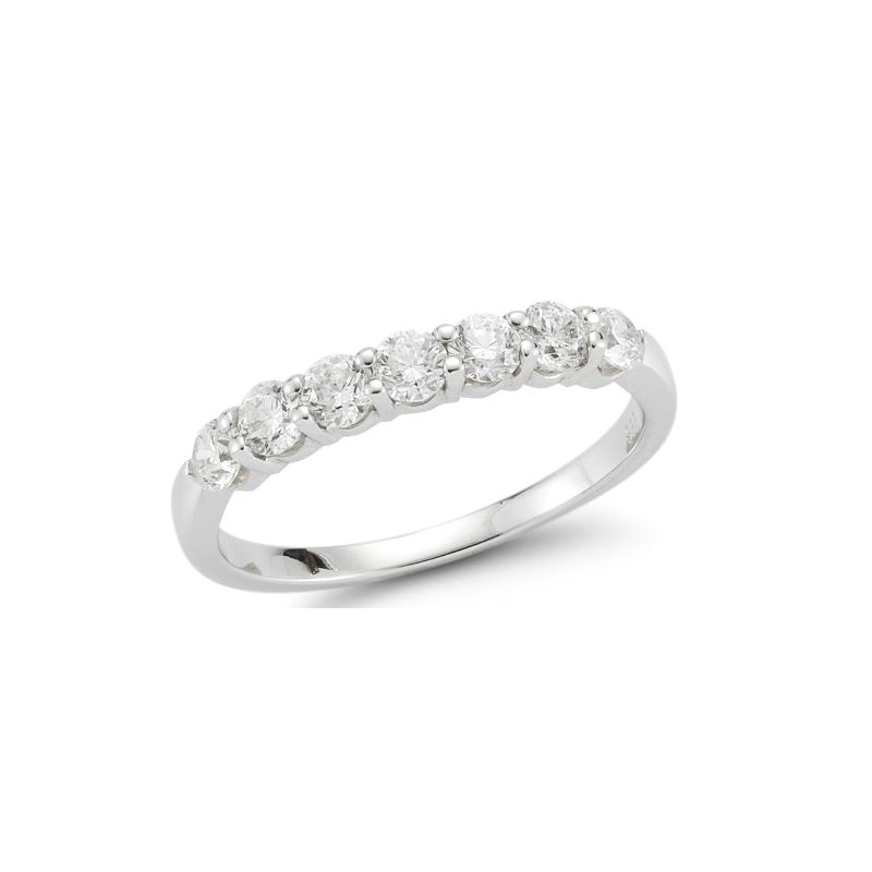 Beny Sofer 14 Karat White Gold Diamond Band