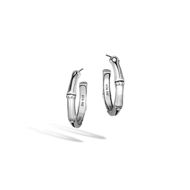 John Hardy Bamboo Small Hoop Earrings