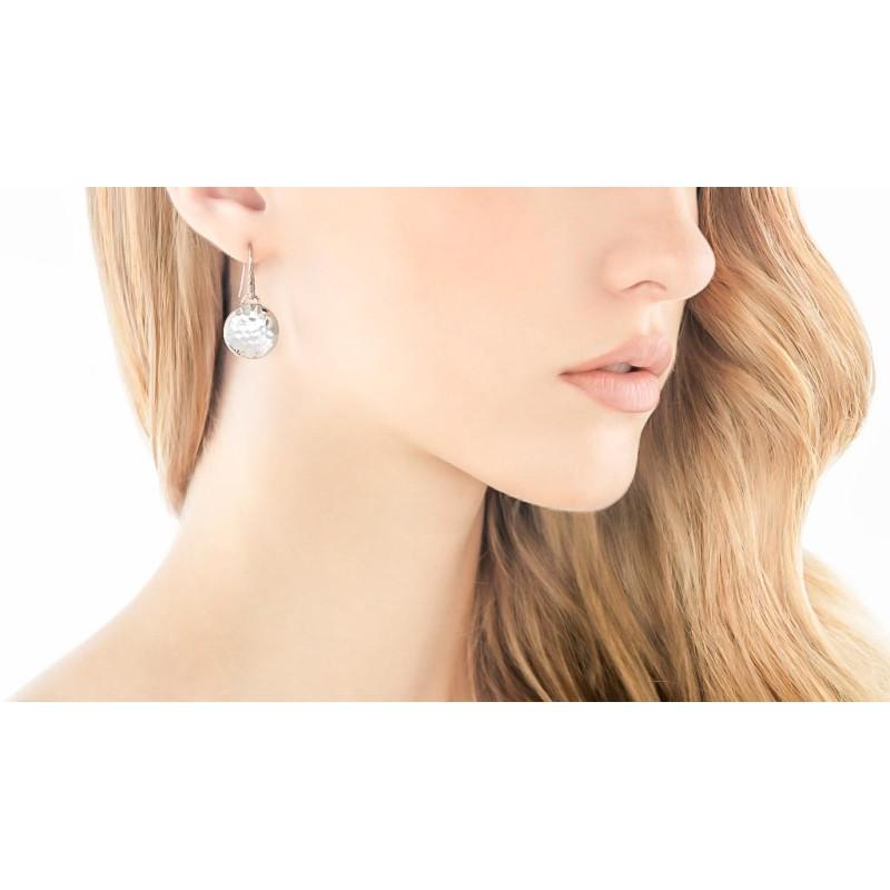 John Hardy Dot Round Drop Earrings
