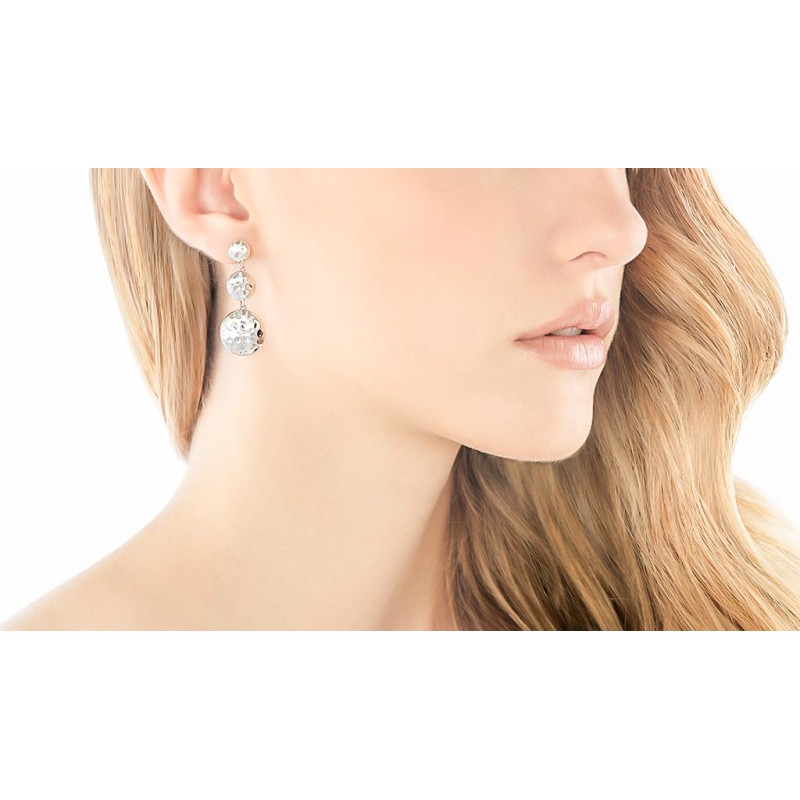 John Hardy Dot Triple Drop Linear Earrings