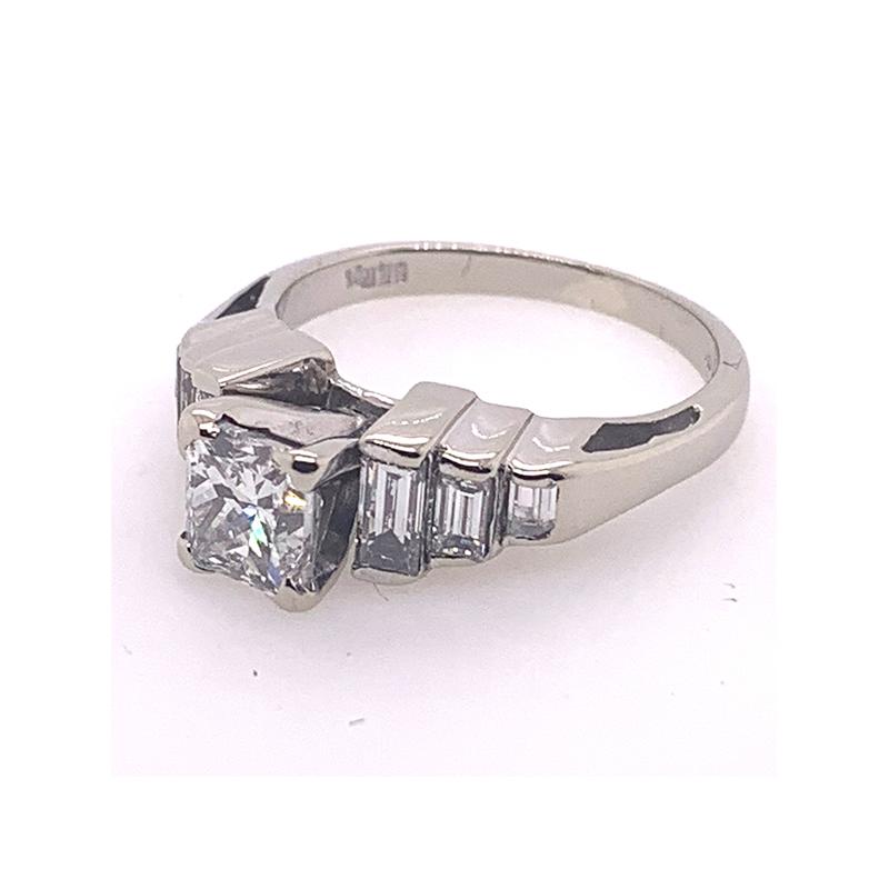 Vintage   diamond bridal ring