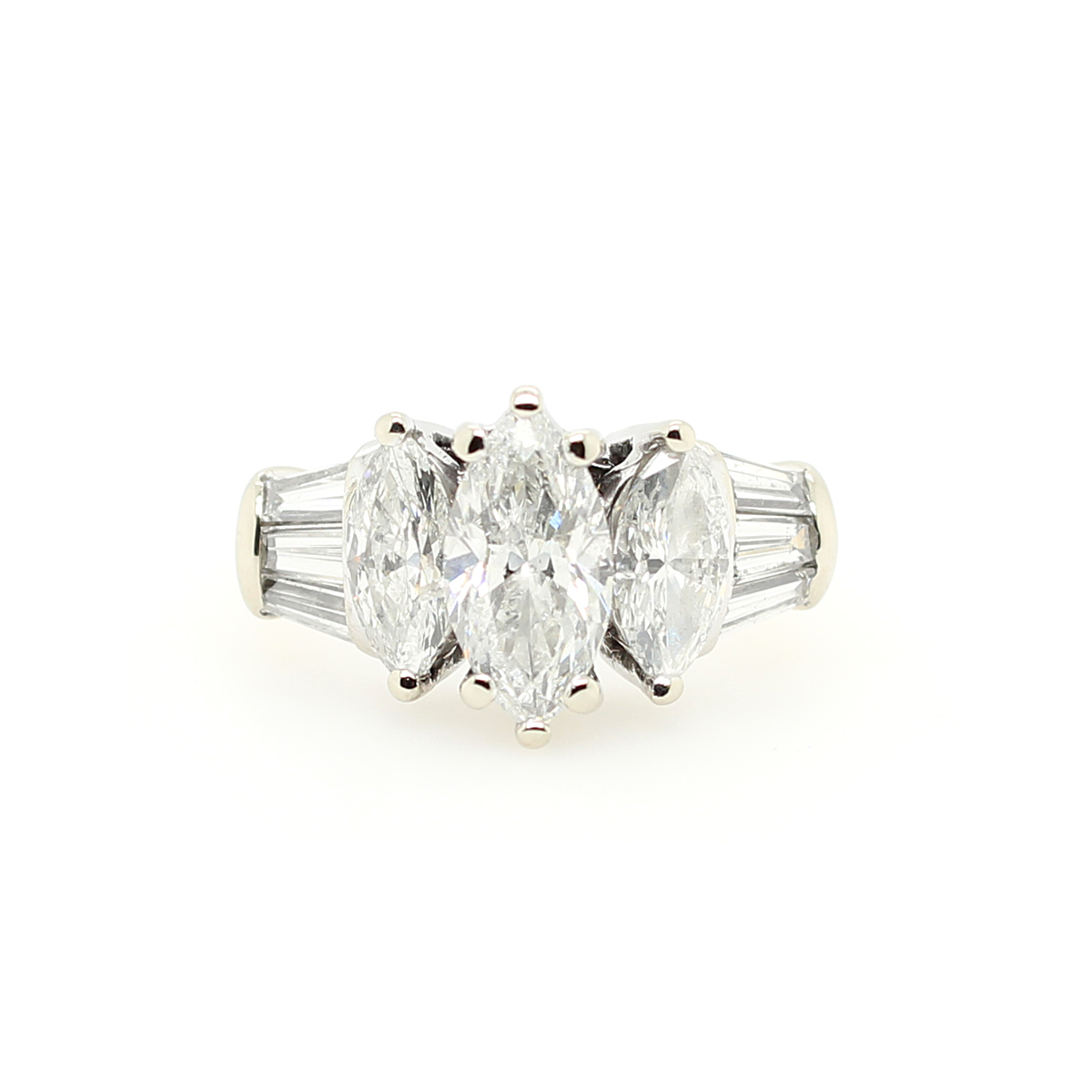 Vintage Diamond Bridal Ring