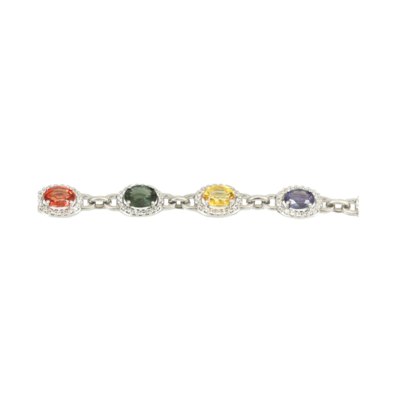 So Colorful Yet So Elegant Is This Antique Reproduction Bracelet To Wear.