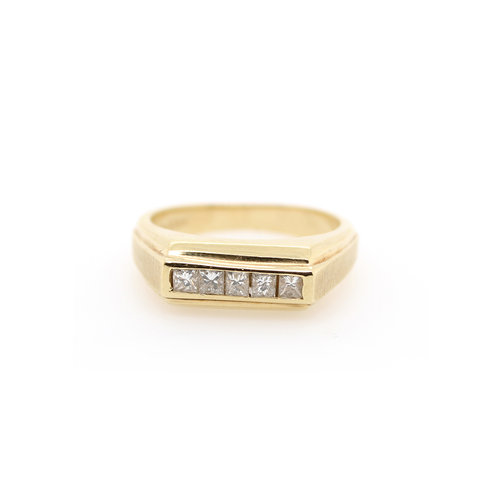 Vintage 18 Karat Yellow Gold Gentleman