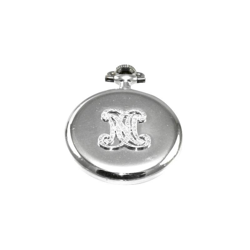 Estate Platinum Vacheron and Constantin Geneve mini pocket watch with diamonds.