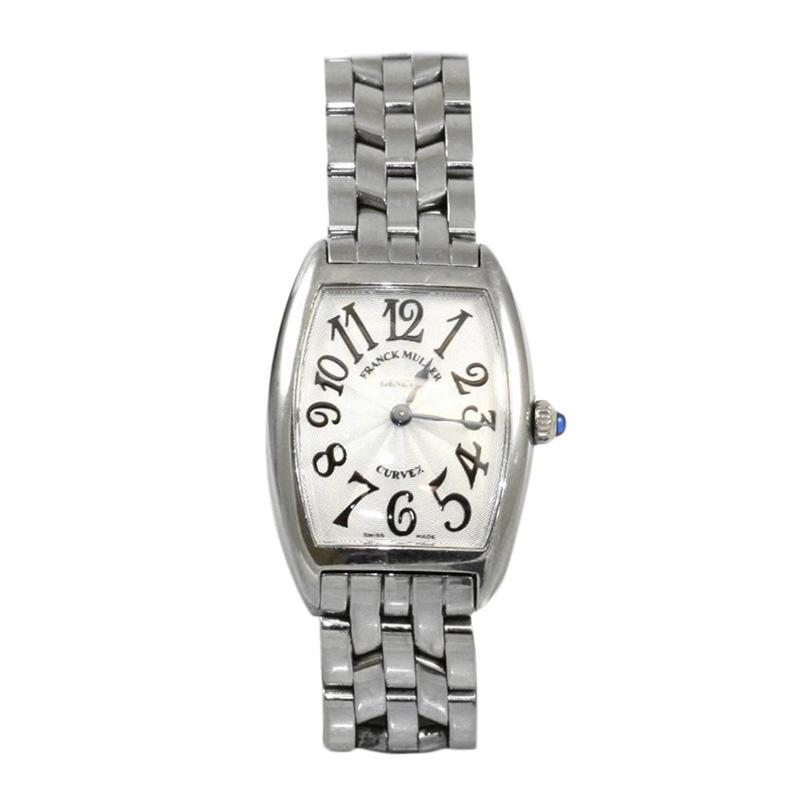 Estate stainless steel Franck Muller Geneve Watch.