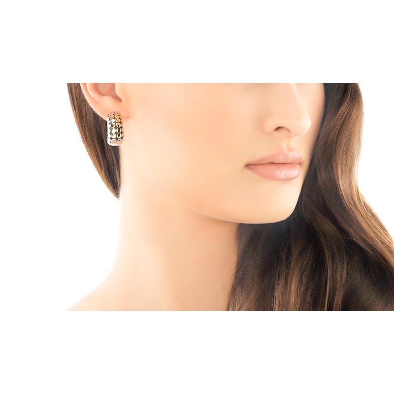 John Hardy Dot Buddha Belly Earrings