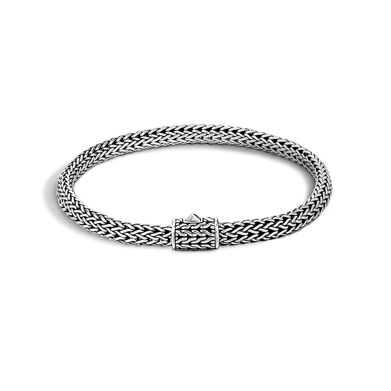 John Hardy Iconic Sterling Silver Classic Chain Bracelet.