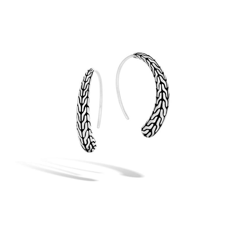 John Hardy Classic Chain Small Hoop Earring