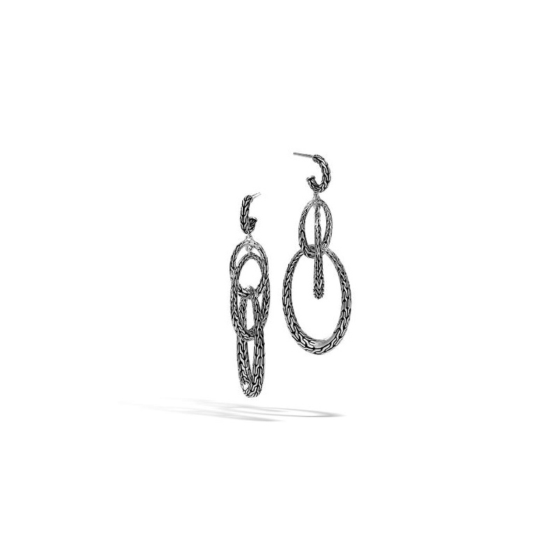 John Hardy Classic Chain Drop Earring