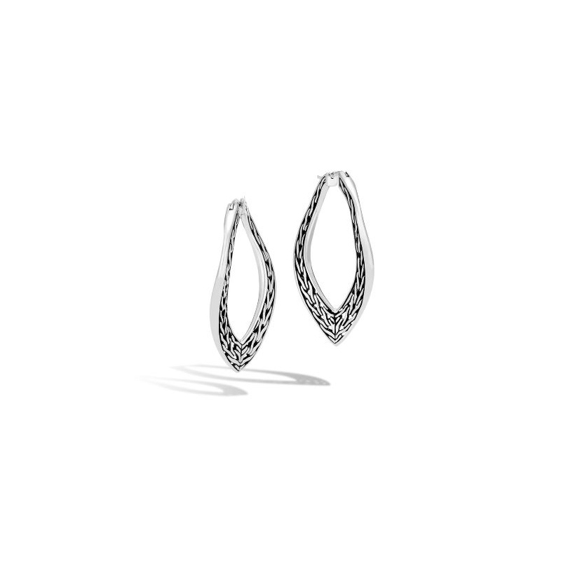 John Hardy Wave Large Hoop Earring