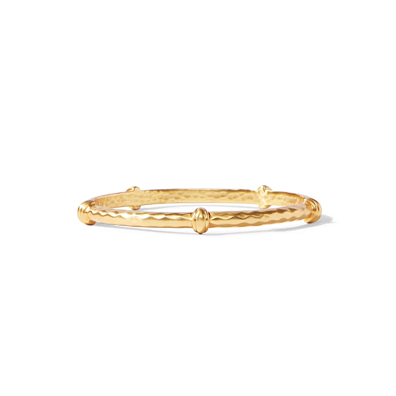 Jule Vos 24 Karat Gold Plated Savannah Bangle Bracelet