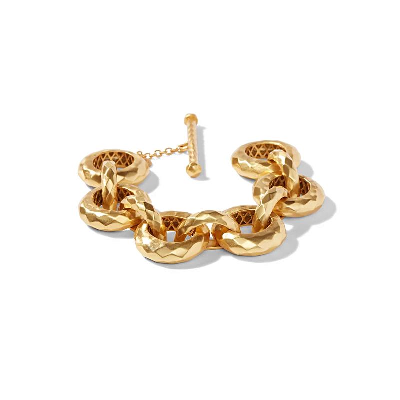 Julie Vos 24 Karat Gold Plated Chunky Savannah Bracelet