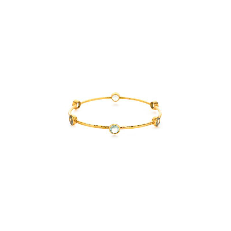 Julie Vos Milano 6-Stone Bangle