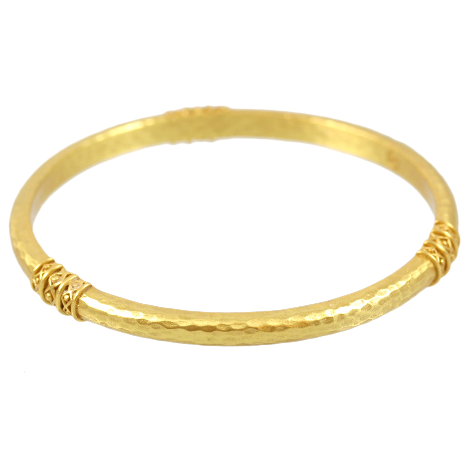 Julie Vos 24 Karat Gold Plated Catalina Bangle