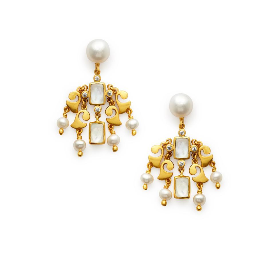 Julie vos clara chandelier earring jv00844 httplevyjewelersuploadproductjv00844 arubaitofo Images