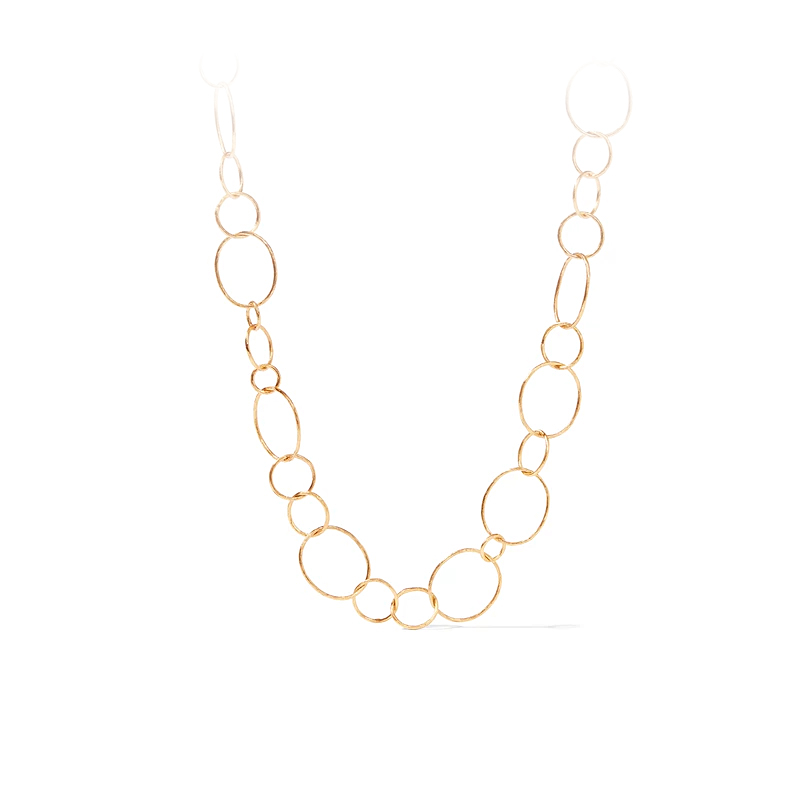 Julie Vos 24 Karat Gold Plated Colette Textured Necklace