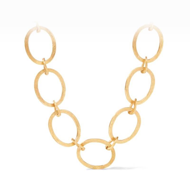 Julie Vos 24 Karat Gold-Plated Aspen Link Necklace