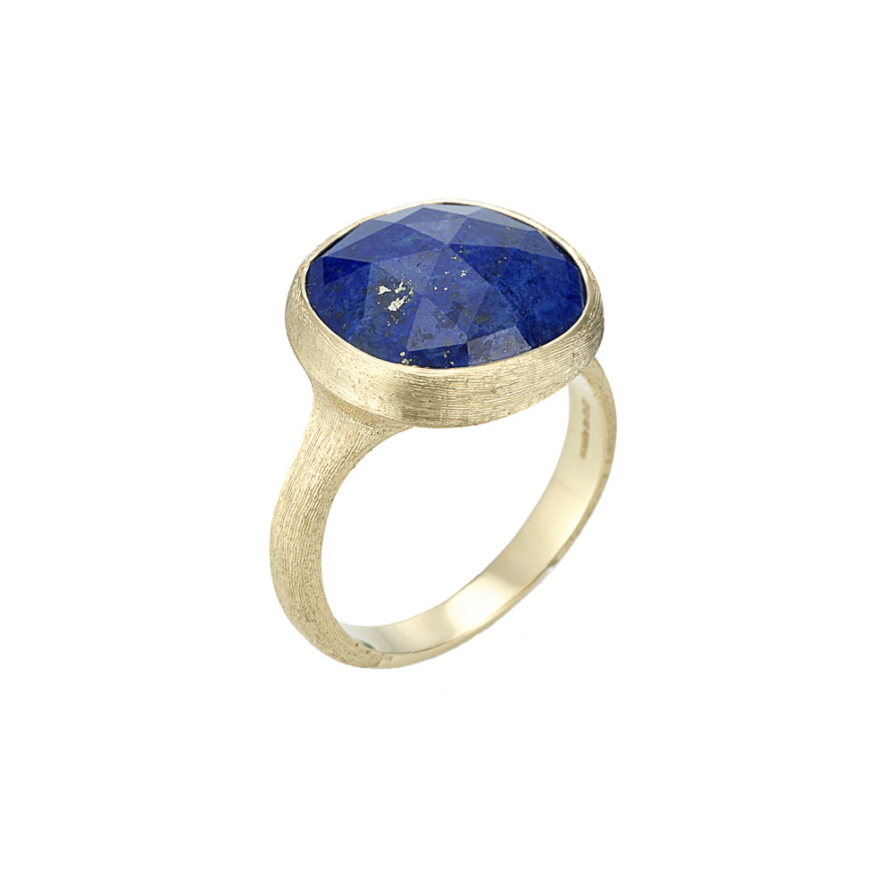 Marco Bicego 18 Karat Yellow Gold Jaipur Ring with Lapis