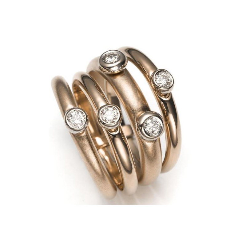 Mattioli Celebrations Diamond Stacking Rings