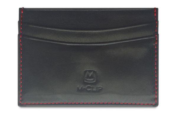 M-Clip Black Hori Leathr Rfid Case