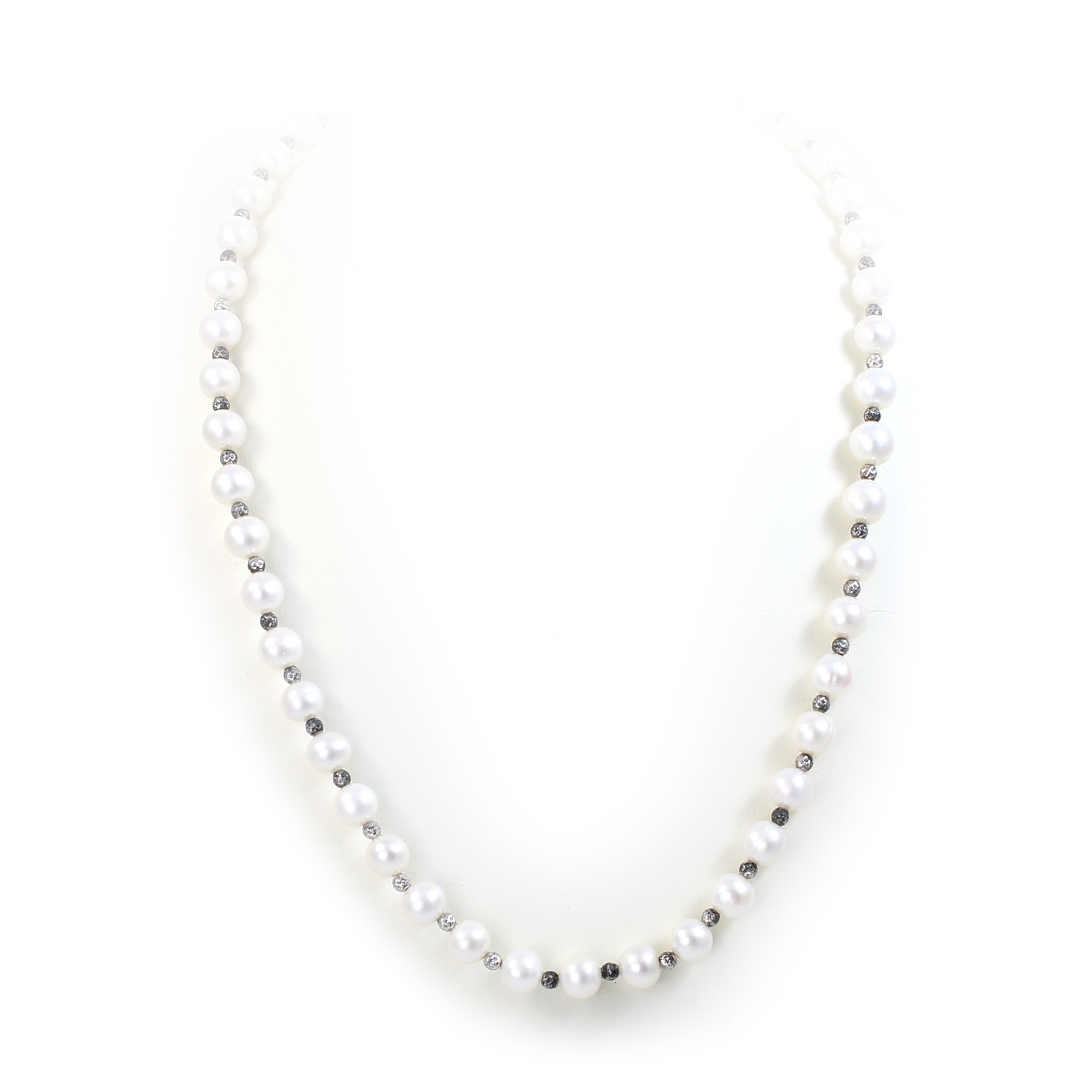 7-8mm White South Sea Pearl Bead Necklace