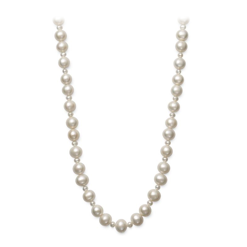 Endless 9.5-10.5mm Freshwater Cultured Pearl Necklace