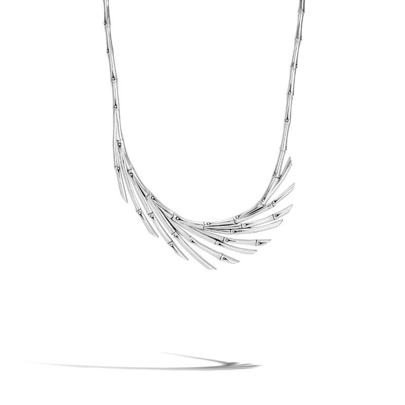 John Hardy Bamboo Fan Necklace