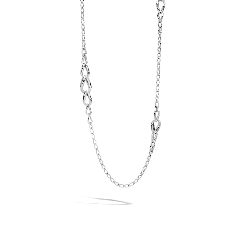 John Hardy Graduated Link Necklace