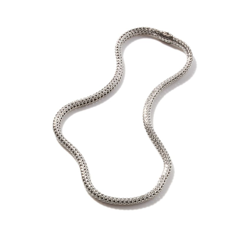 John Hardy Classic Chain Silver Small Necklace