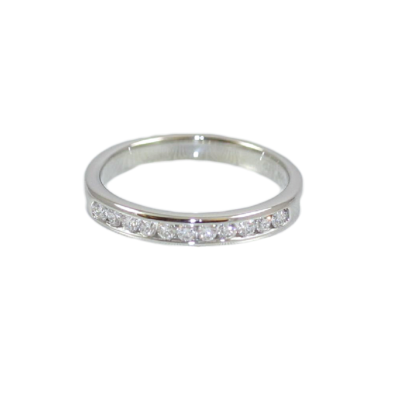 Platinum 22 Diamond Wedding Band
