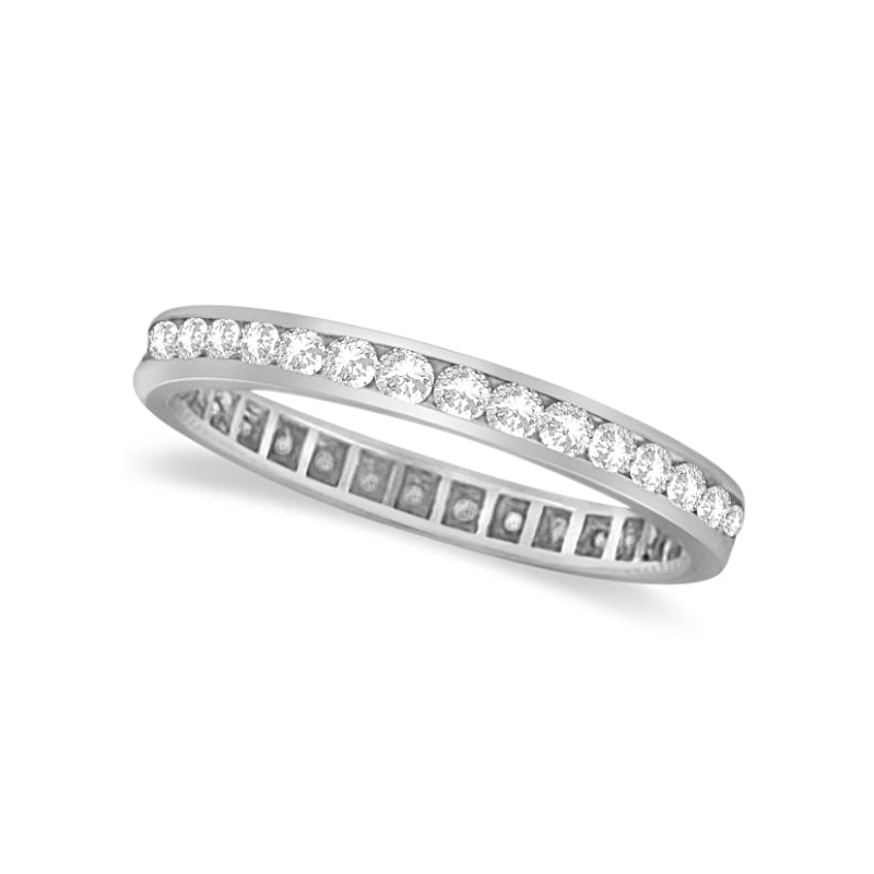 Platinum 30 Diamond Eternity Band