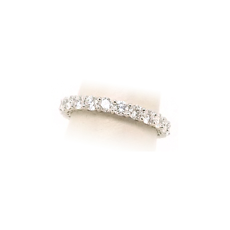 Platinum 23 Diamond Eternity Band