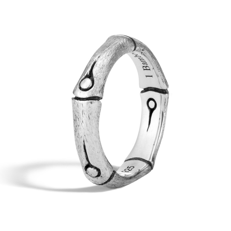 John Hardy Brushed Band Ring