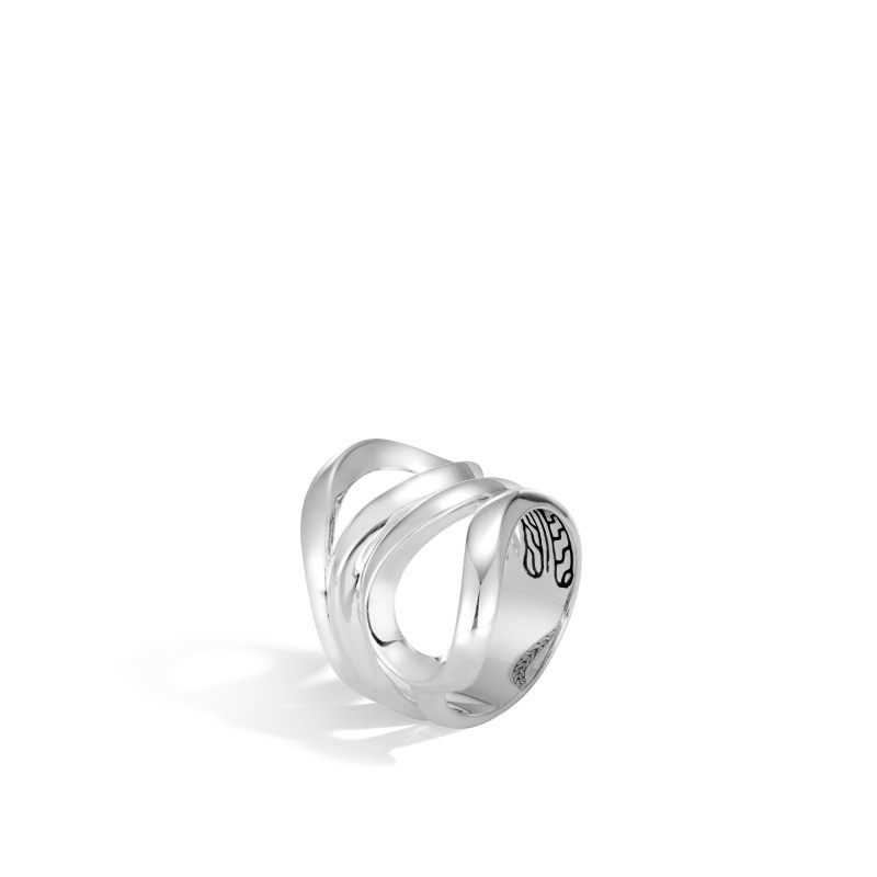 John Hardy Asli Classic Chain Link Silver Ring