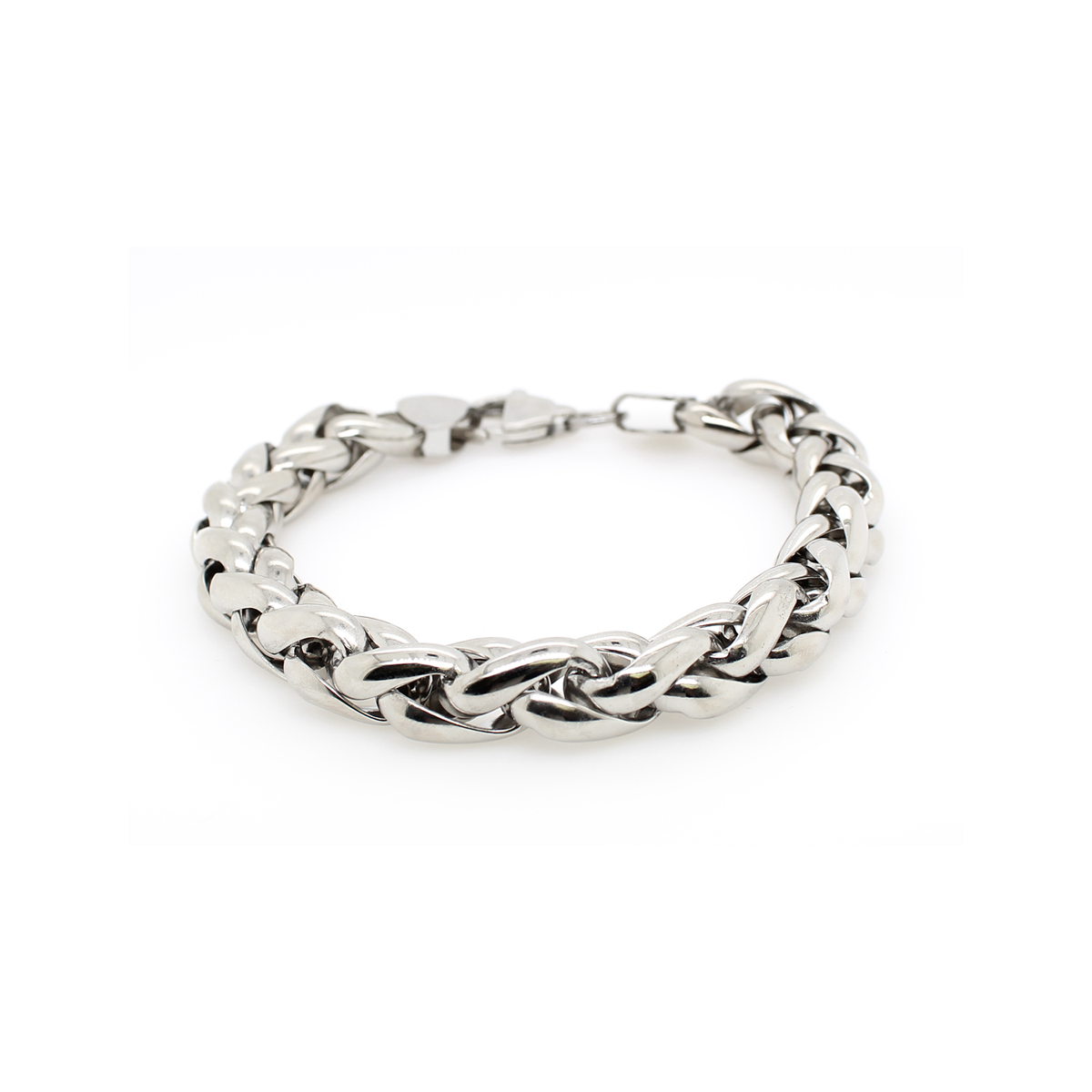Royal Chain Stainles Steel Braided Bracelet